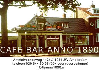 Café Bar Anno 1890